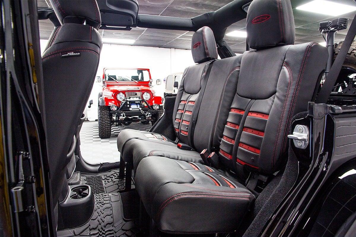 2017 Custom Jeep Wrangler Rubicon Unlimited Hard Rock Edition Black