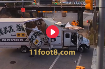11 Foot 8 Truck Crashes