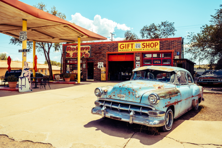 Route 66 Attractions, Seligman